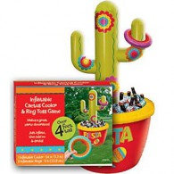 Inflatable Cactus Drink Cooler & Game