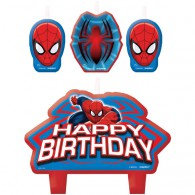 Spiderman Ultimate Candle