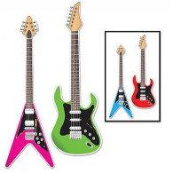 Guitar Cutouts Assorted Designs