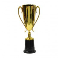 Trophy Cup Award Gold Plastic
