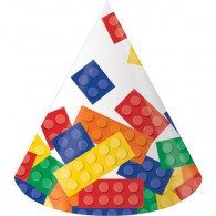 Block Party Hats Cone x 8