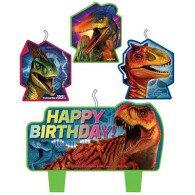 Jurassic World Candle Set
