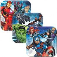 Avengers Epic 17cm Square Plate