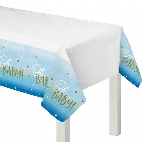 Oh Baby Boy Plastic Tablecover 137cm x 259cm