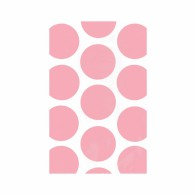 Favor Party Bags Pink & White Polka Dots