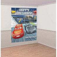 Cars 3 Scene Setter Kit Happy Birthday