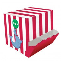 Circus Time Candy Dispensing Treat Boxes