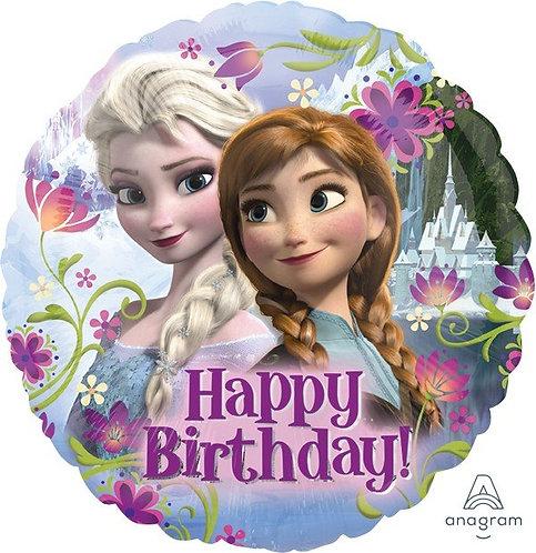 45cm Standard HX Frozen Happy Birthday S60