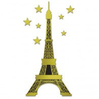 Eiffel Tower Jointed Cutout 1.79m