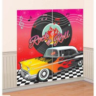 Classic 50's Scene Setter Wall Decorating Kit