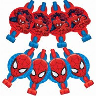 Spiderman Blowouts with Medallions