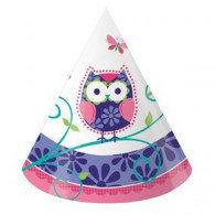 Owl Pal Birthday Party Hats