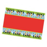 The Wiggles Tablecover Plastic 130cm x 180cm Each