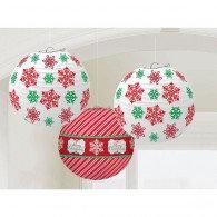 Christmas Designs & Snowflakes Lanterns