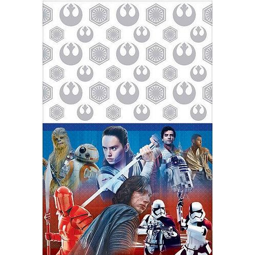 Star Wars VIII The Last Jedi Tablecover Plastic