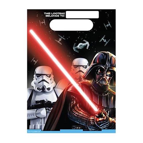 Star Wars Classic Loot Bag x 8