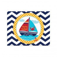 Nautical Invitations Pk 8