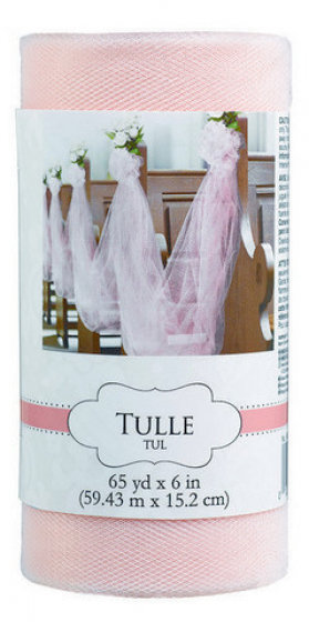 Tulle Spool - New Pink