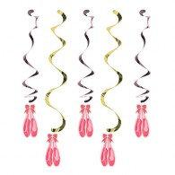 Twinkle Toes Dizzy Danglers Hanging Swirls Foil Swirls