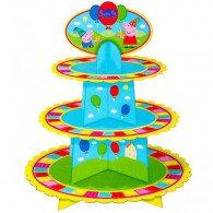 Peppa Pig Cupcake 3 Tier Stand