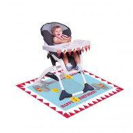 Circus Time High Chair Kit 1st Birthday Plastic