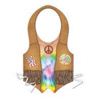 Vest Hippie Design Plastic