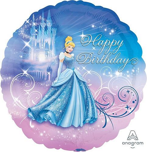 45cm Standard XL Cinderella Happy Birthday S60