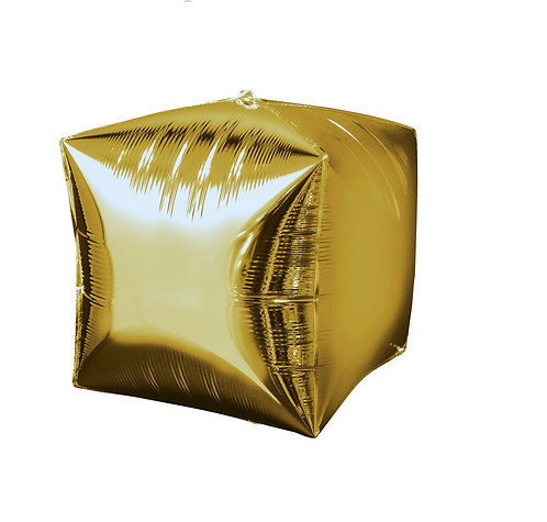 38cm x 38cm Foil Yellow Balloon Self Sealing