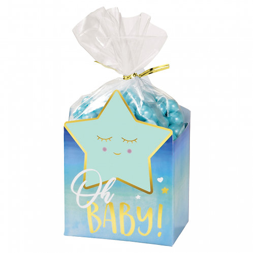 Oh Baby Boy Favor Box Kit Pack of 8