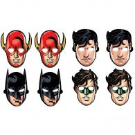 Justice League Masks Assorted