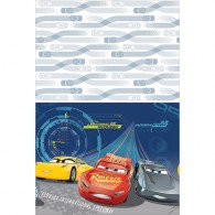 Cars 3 Tablecover Plastic 137cm x 243cm Each
