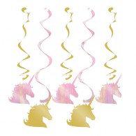 Unicorn Sparkle Dizzy Danglers Hanging Decorations