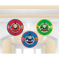 Thomas All Aboard Honeycomb Decorations