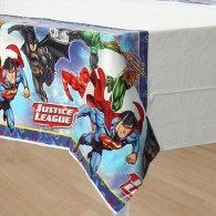 Justice League Tablecover Plastic 137cm x 243cm Each
