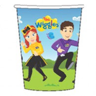 The Wiggles Cups Paper 266ml Pack of 8