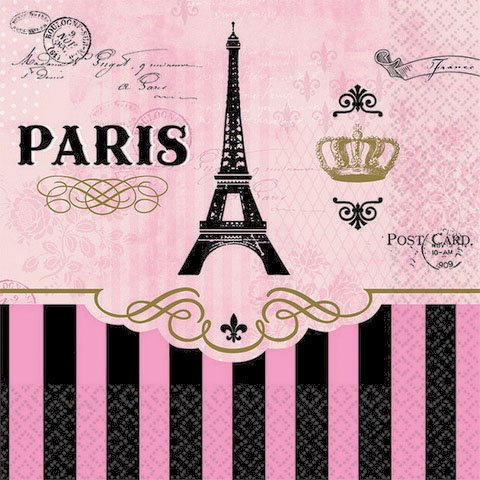 Day in Paris Party Theme - Basic