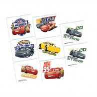 Cars 3 Tattoos Assorted Designs