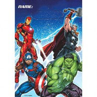 Avengers Epic Folded Loot Bags