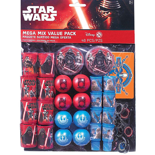 Star Wars Episode 7 Mega Mix Value Pack Favor