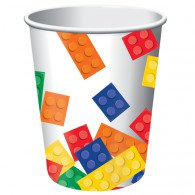 Block Party Cups Paper 266ml x 8