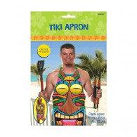 Apron Tiki Design Plastic
