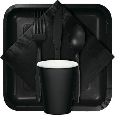 Black Theme Tableware