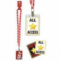 V.I.P. Party Pass (63cm) Lanyard Necklace