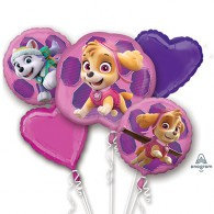 Paw Patrol Girls Bouquet Balloons