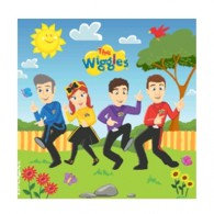 The Wiggles Luncheon Napkins 33cm x 33cm 2 Ply Pack of 16