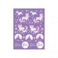 Unicorn Fantasy Value Stickers