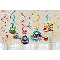 Thomas All Aboard Hanging Swirls Decorations