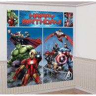 Avengers Scene Setter Wall Decorating