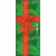 Door Decoration Christmas Foil (195cm x 90cm) Each