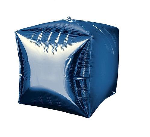 38cm x 38cm Foil Blue  Balloon Self Sealing